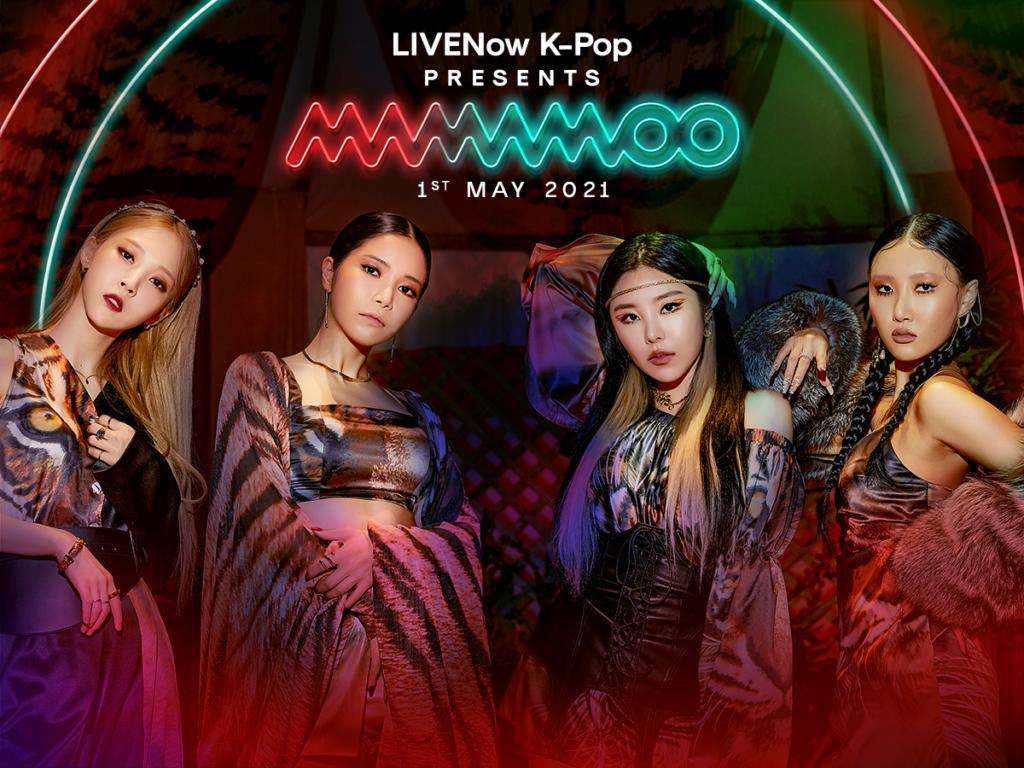 Mamamoo Live streaming su Live Now